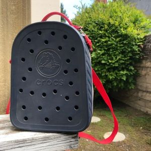 NWT Crocs Rubber Blue Youth Packpack